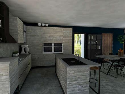 Cucina su misura: Cucina in stile in stile Tropicale di StudioExNovo