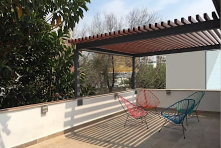 Terrace by Productos Cristalum