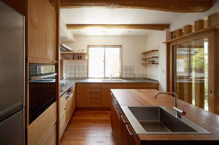 台所: 竹内建築設計事務所が手掛けたキッチンです。