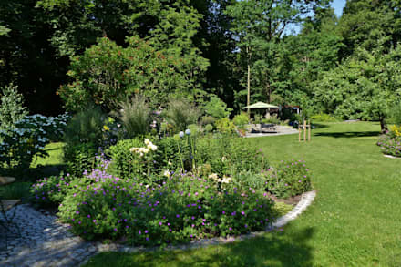 Garten gartengestaltung ideen und bilder homify for Schmalen garten gestalten