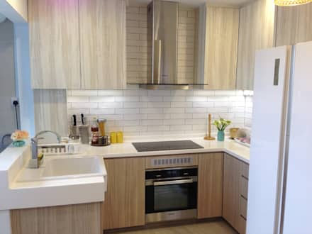 Project Asgard @ Pasir Ris:  Built-in kitchens by ab1 Abode Pte Ltd