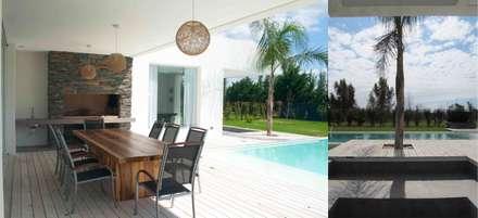 Casa Suriguez: Casas de estilo moderno por Estudio Victoria Suriguez