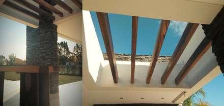 Casa Rajcic - Fiorito: Jardines de estilo moderno por Estudio Victoria Suriguez