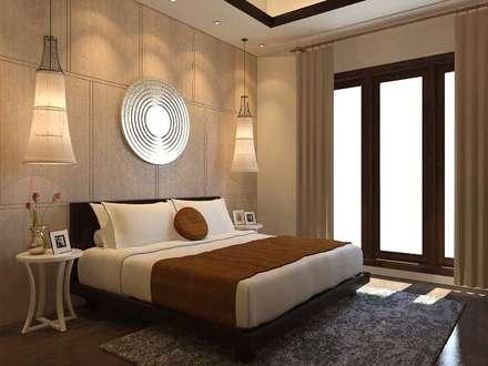 Salas de eventos de estilo  por Kottagaris interior design consultant