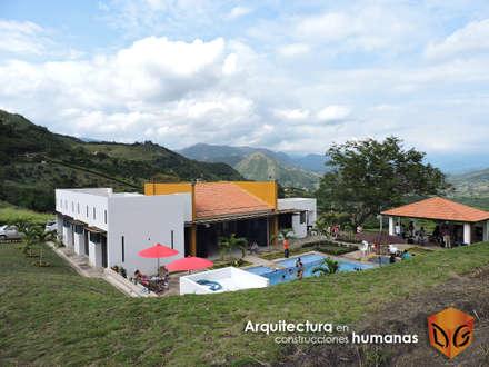 ARQUITECTURA: Fincas de estilo  por DG ARQUITECTURA COLOMBIA