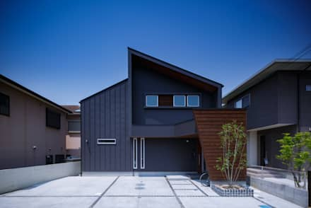 H・h(渡り廊下のある家): Studio REI 一級建築士事務所が手掛けた家です。