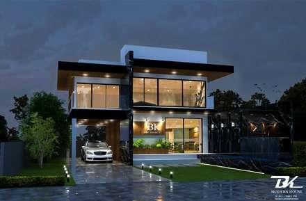 Detached home by BK Archstudio
