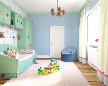 Girls Bedroom by Студия дизайна и декора Алины Кураковой