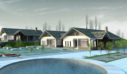 บ้านสำหรับครอบครัว by Công ty cổ phần Kiến trúc và xây dựng AST