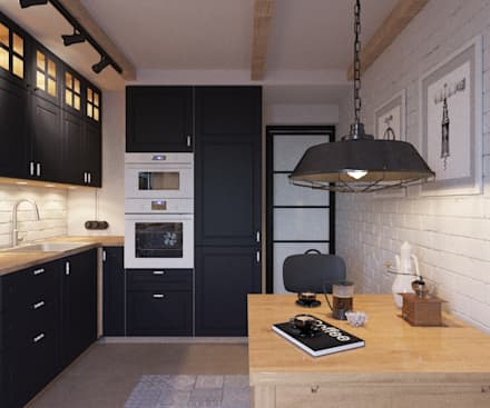 scandinavian Kitchen by LUXEMBURG