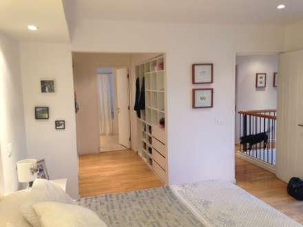 casa bello horizonte dormitorios de estilo minimalista por er y construccin
