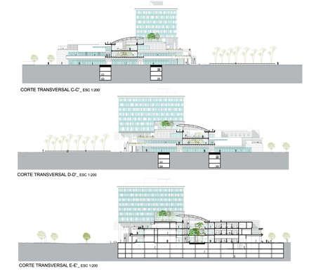 """PROYECTO CENTRO COMERCIAL """"MALL CAEP"""": Centros Comerciales de estilo  por [ER+] Arquitectura y Construcción"""