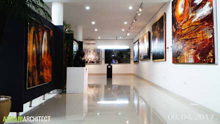 Art Gallery:  Ruang Multimedia by Ashari Architect