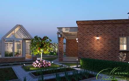 Дом в английском стиле: Дома в . Автор – Компания архитекторов Латышевых 'Мечты сбываются'