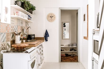 Cozinha: Cozinhas ecléticas por INTERIOR - DECORAÇÃO EMOCIONAL