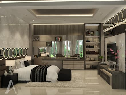 Master Bedroom:  Kamar Tidur by Adelia Irena