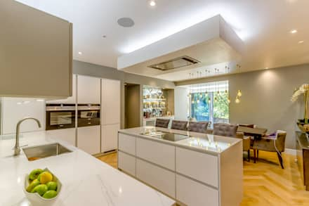 Schon Modern Kitchen In Edinburgh Basement Flat : Built In Kitchens By Capital A  Architecture