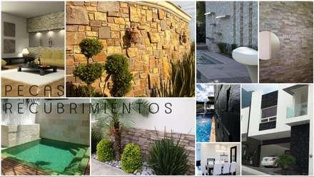 Venta e Instalacion de Recubrimientos Residenciales: Conjunto residencial de estilo  por PECASA RECUBRIMIENTOS