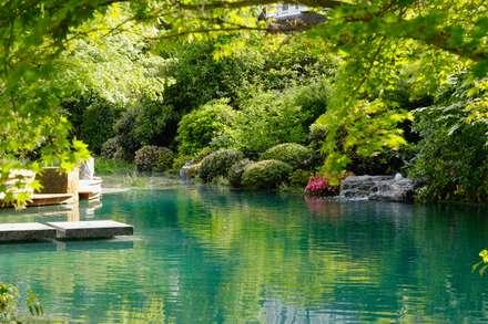 Garden Pond by Jürgen Kirchner Wasser + Garten