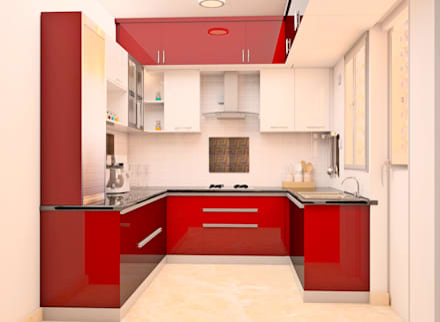 SNN Raj Serenity, 3 BHK   Mr. Ramprasath: Built In Kitchens By