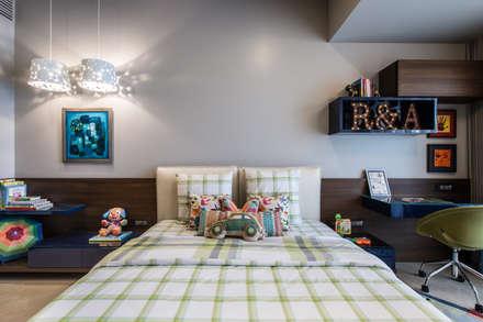 غرفة الاطفال تنفيذ Rakeshh Jeswaani Interior Architects