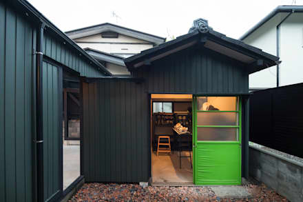 house-09(renovation): dwarfが手掛けたガレージです。