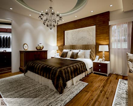 Royal suite | Bedroom: modern Bedroom by WORKSPACE architects & interior designers