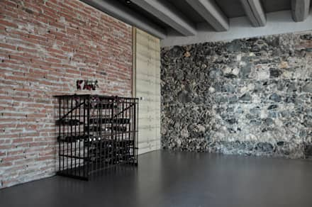 Ruang Penyimpanan Wine by Moro Progetti