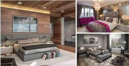 : rustikale Schlafzimmer von homify