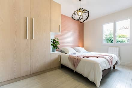 Maison SCT: Chambre de style de style Moderne par Agence hivoa