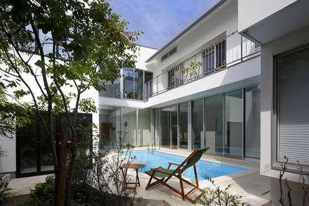 東京都 個人邸  (6.0m×2.25m レクタングル形状): プールカンパニー 株式会社プロスパーデザイン プール事業部が手掛けたビーチハウス・クルーザーです。