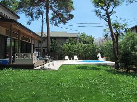 東京都 個人邸  (6.0m×3.0m レクタングル形状): プールカンパニー 株式会社プロスパーデザイン プール事業部が手掛けたビーチハウス・クルーザーです。