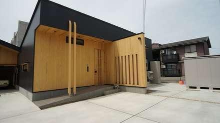 割出町の家: 一級建築士事務所 岡本義富建築研究所が手掛けた家です。