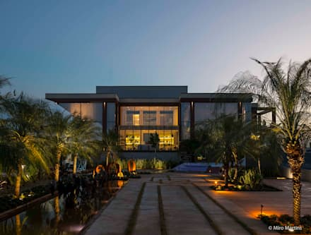 Terrace house by Izilda Moraes Arquitetura