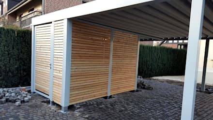 Geräteraum Wandprofile:  Carport von Carport-Schmiede GmbH + Co. KG