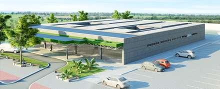 Hospitales de estilo  de VERRONI arquitetos associados