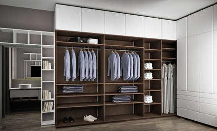 Vestidores y closets modernos ideas homify for Disenos de closets sencillos