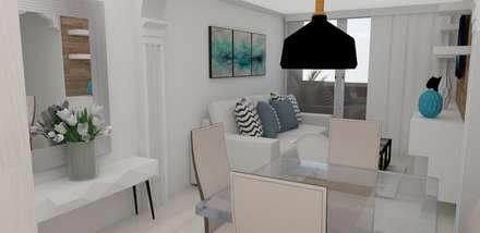 comedor : Comedores de estilo escandinavo por Naromi  Design