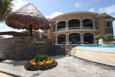 無邊際泳池 by DHI Arquitectos y Constructores de la Riviera Maya
