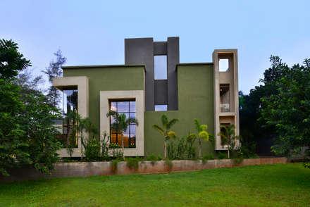 Divya Drashti: modern Houses by SM Studio