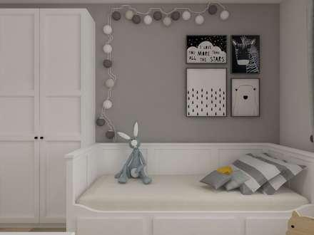 Chambre d'enfant de style de style Rustique par SO INTERIORS ARCHITEKTURA WNĘTRZ