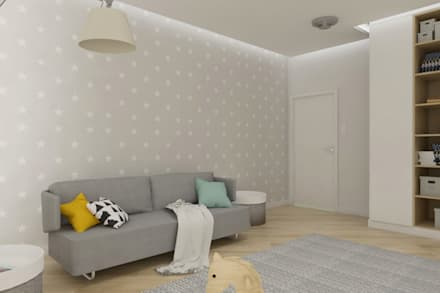 Baby room by SO INTERIORS ARCHITEKTURA WNĘTRZ