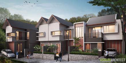 The Green Padasuka Residence:  Rumah tinggal  by Ashari Architect