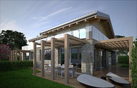 Case idee immagini e decorazione homify for Moderni disegni di case a due piani