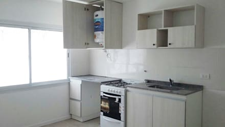 cocina duplex cocinas de estilo minimalista por dsg renders
