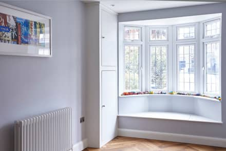 Bay window feature:  Windows  by Gr8 Interiors