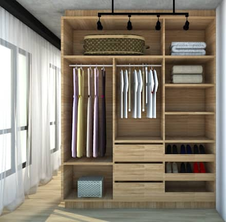vestidores y closets r sticos ideas homify