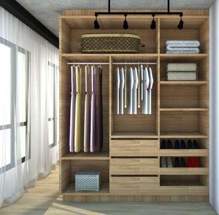 Vestidores y closets r sticos ideas homify for Closet rusticos