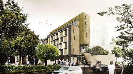 MS HOTEL - MANADO, SULAWESI UTARA:  Hotels by IMG ARCHITECTS