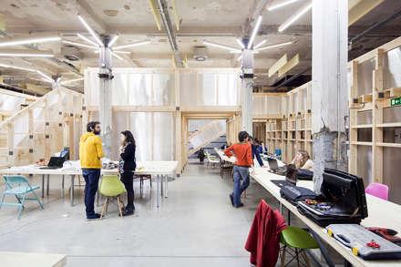 Edificios de oficinas dise os y decoraci n homify for Oficina qualitas auto madrid